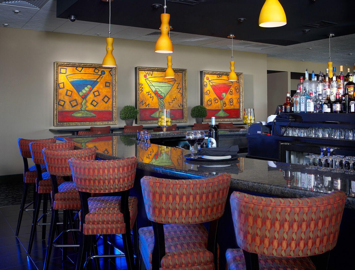 Bar/lounge of Holiday Inn Express