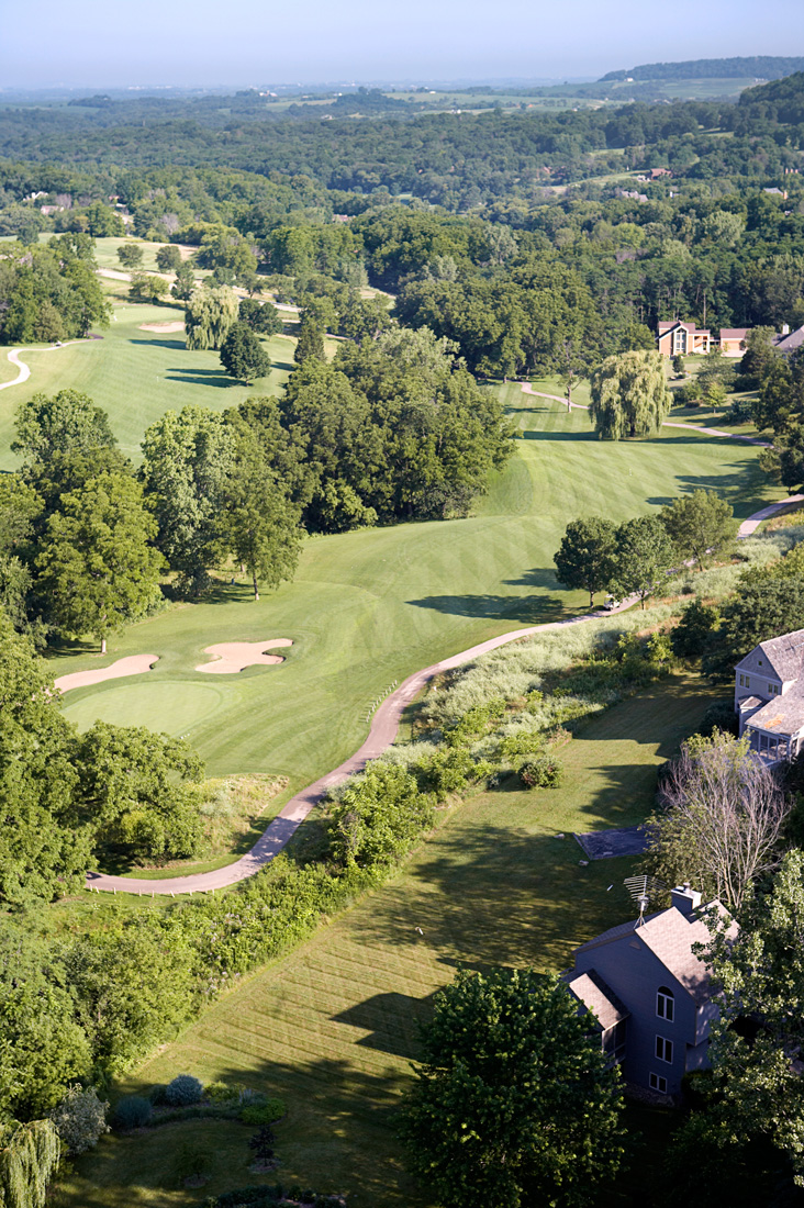 Aerial photograph of Eagle Ridge Golf Course