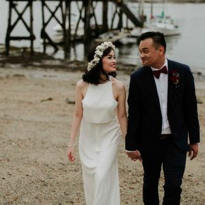 A Wedding in Peaks Island, Maine