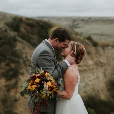 A Wind Canyon Wedding