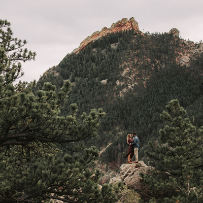 Engaged in Colorado