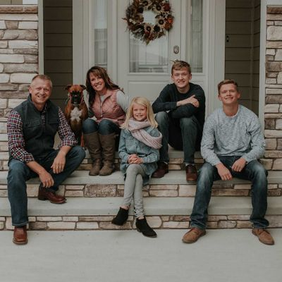 Front Porch Family Session