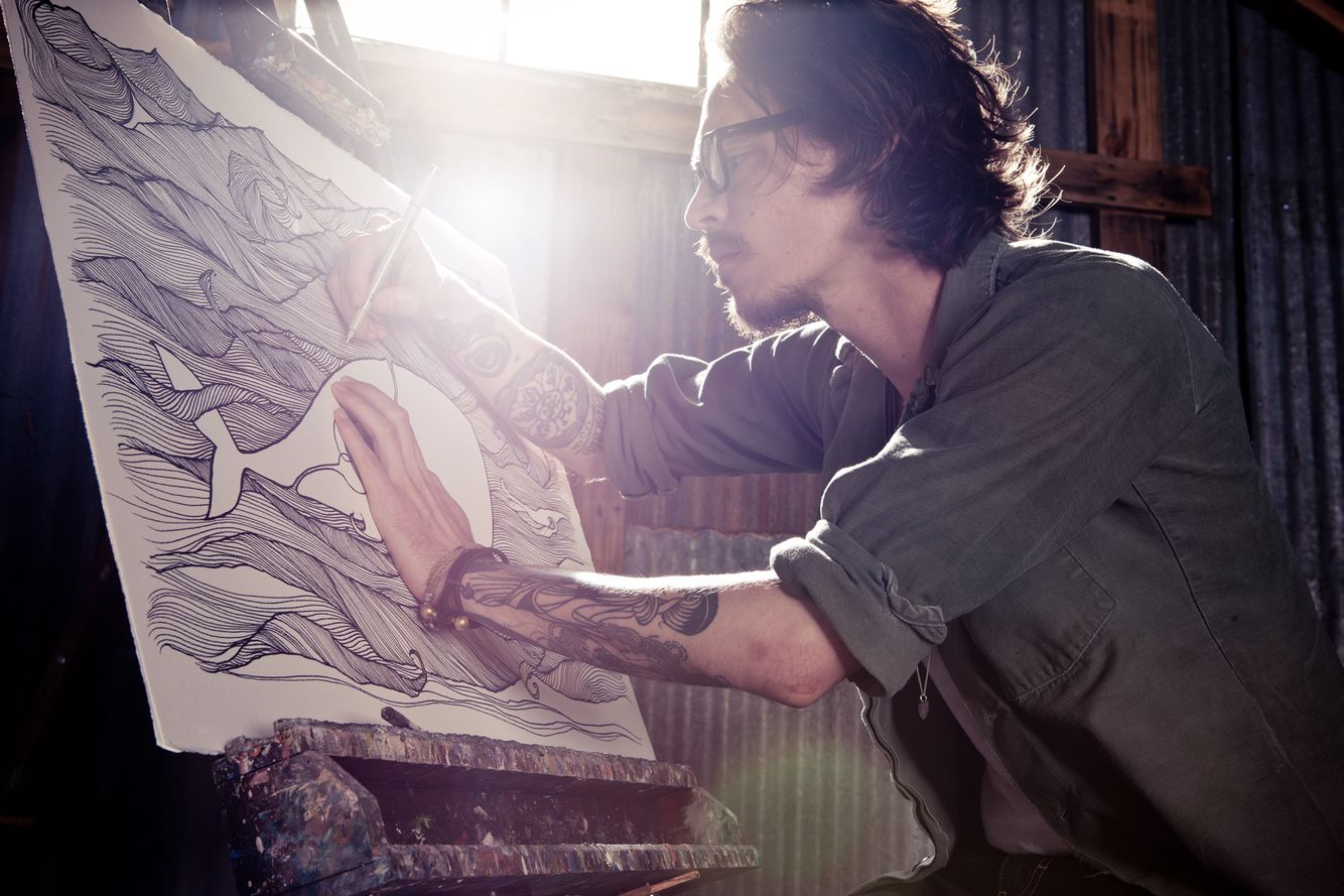 Brandon Boyd of Incubis