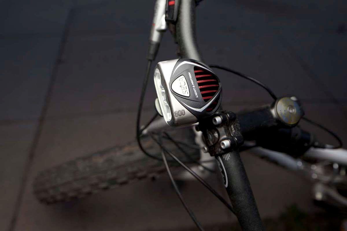 Seca Line of High powered Mountain bike lights.