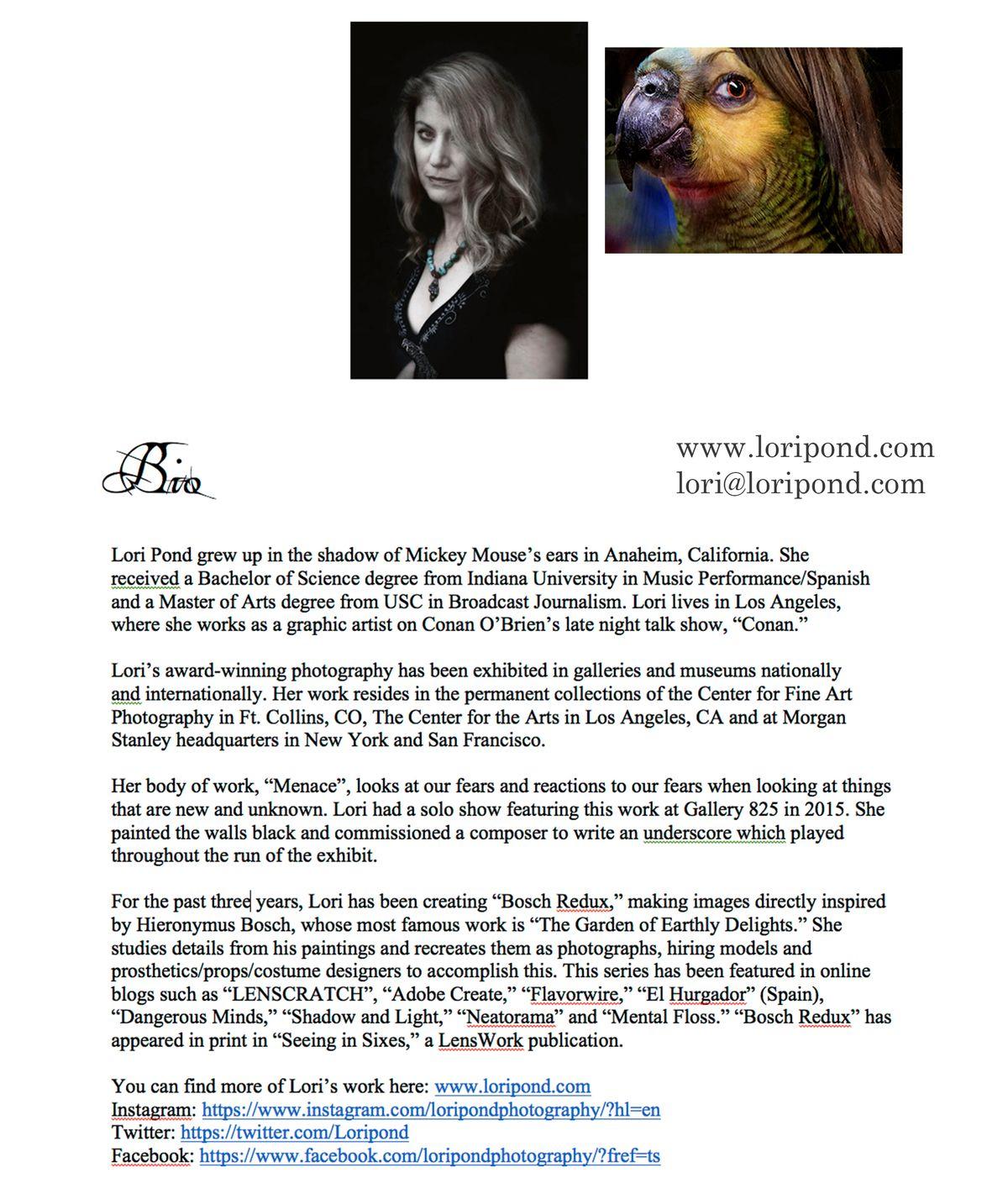 Lori Pond Biography