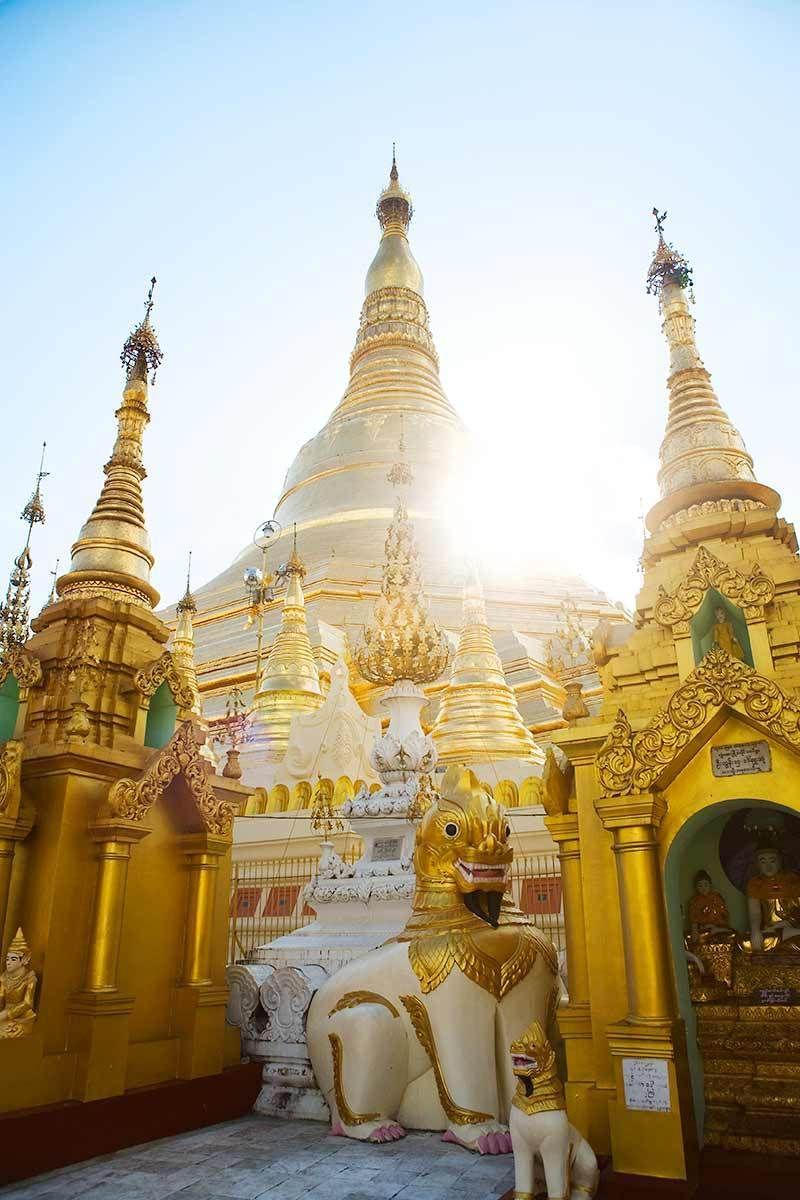 Buddhist monument, Chiang Rai, Thailand.