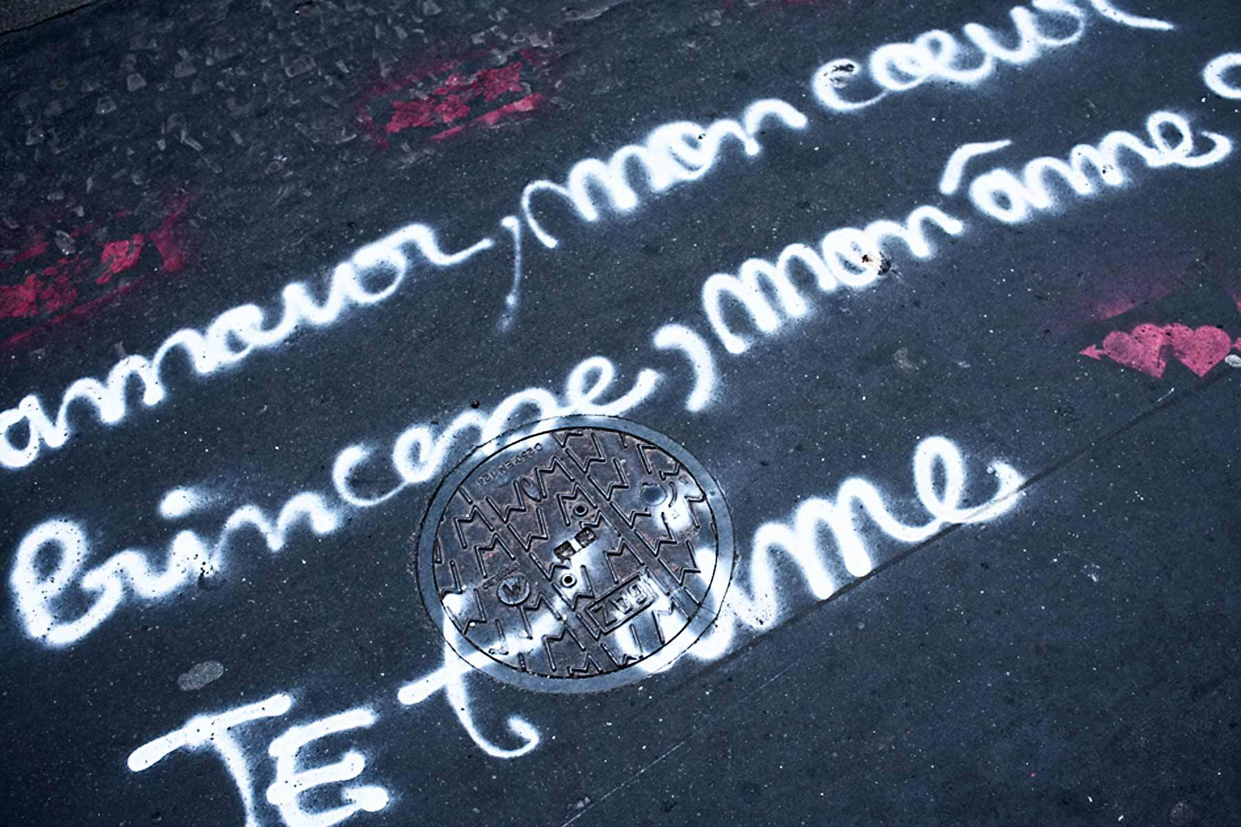 Graffitti, Paris.