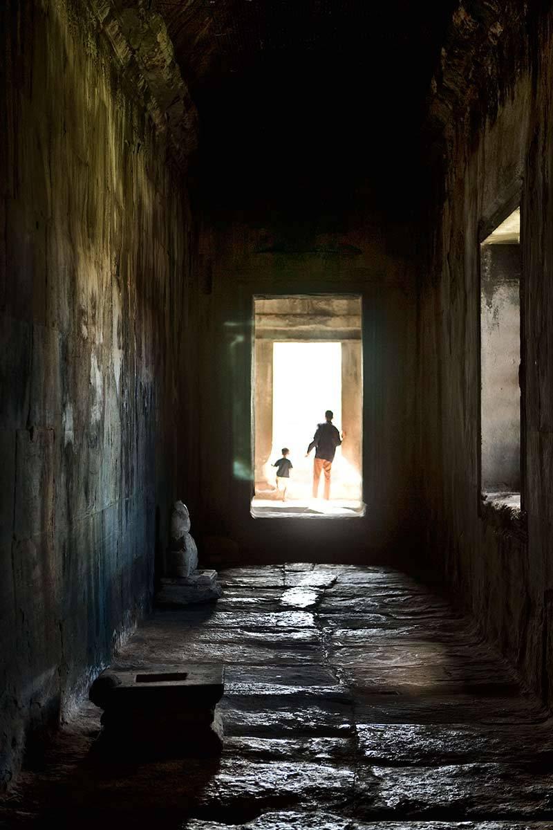 Temple, Angkor Wat, Cambodia.