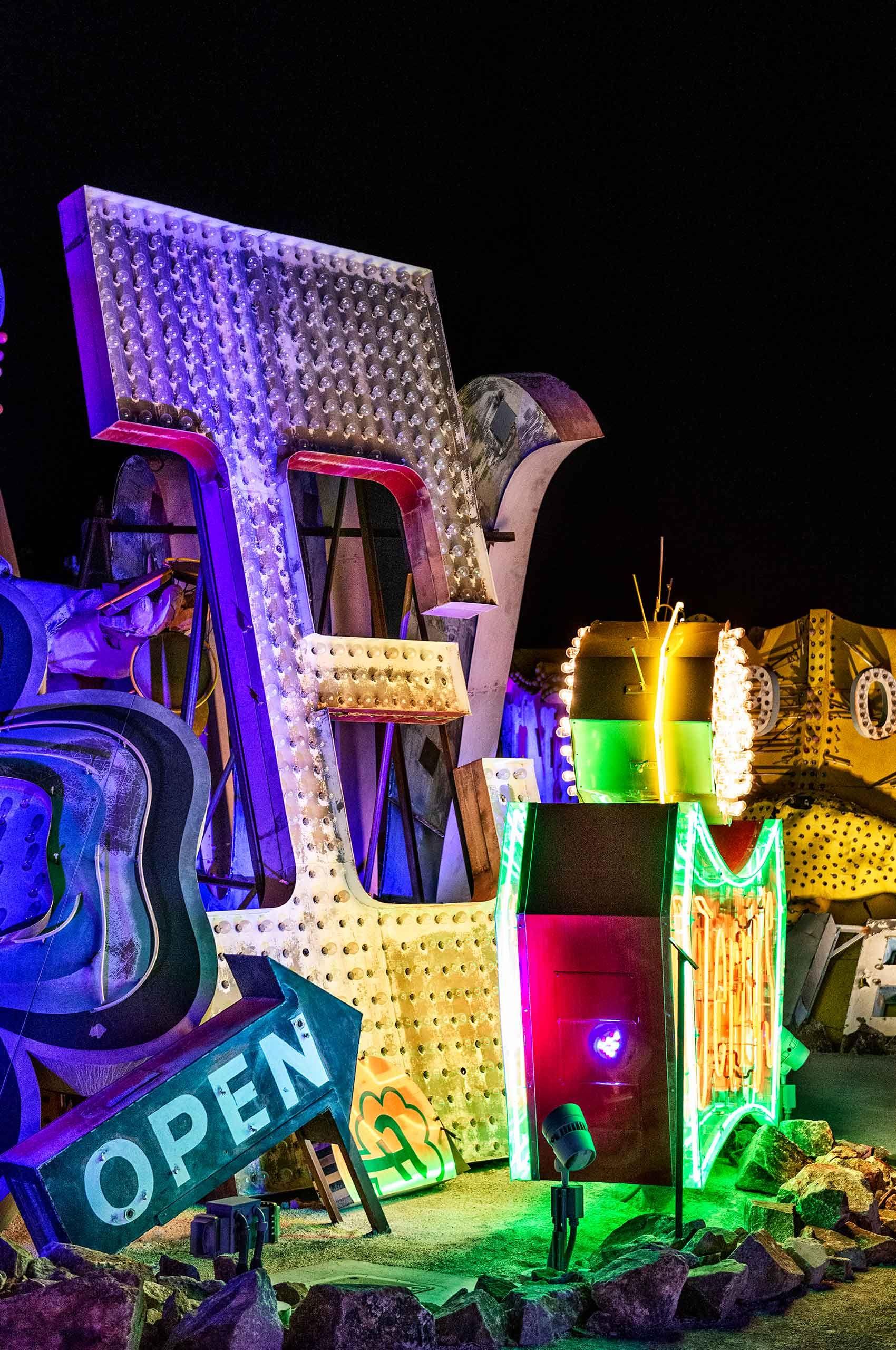 Neon Vegas:Open     $2,500