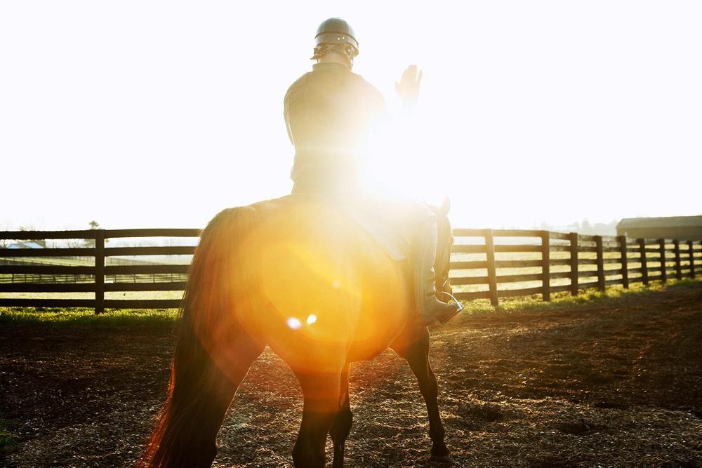 Morning ride, Lexington KY.