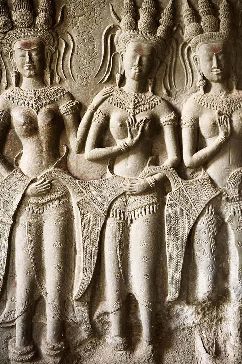 Relief, Cambodia.