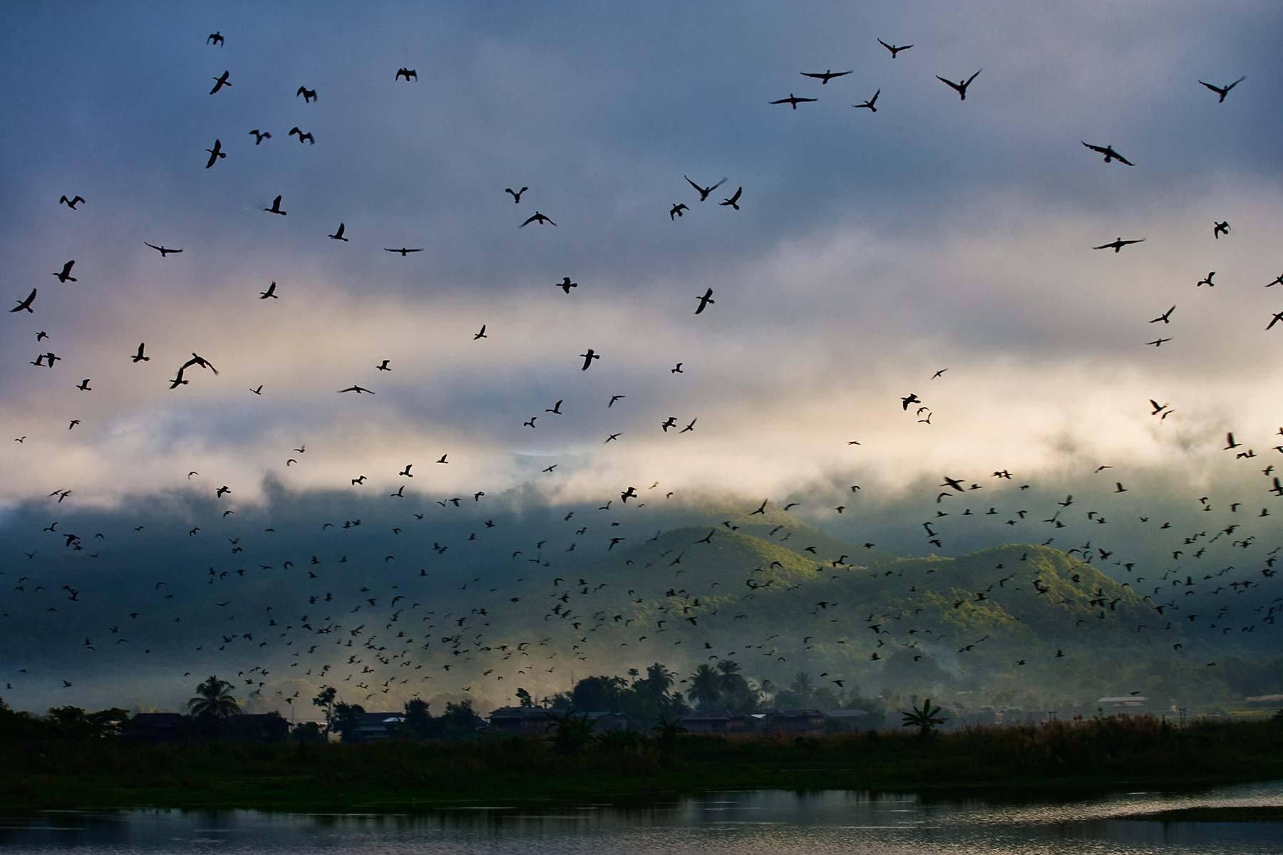 Lake Inle, Myanmar.