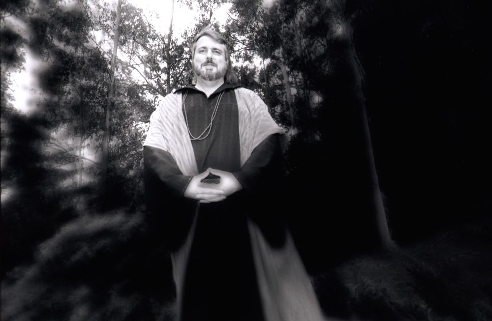 Priest for story on Wiccan practices, San Francisco, CA