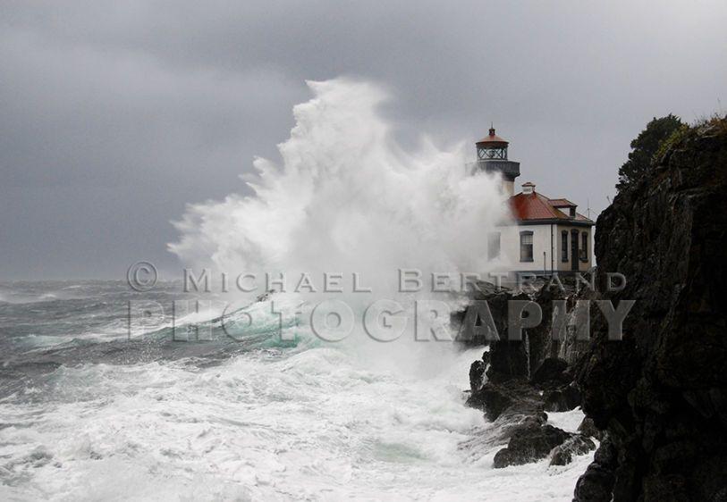 Stormy Light 4 - Lime Kiln Lighthouse