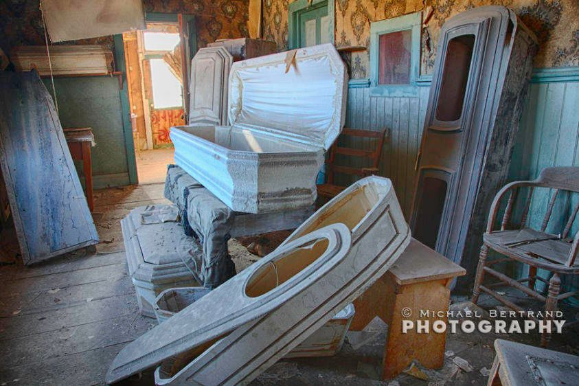 Morgue at Bodie