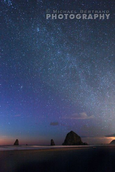 Cannon Beach Milky Way