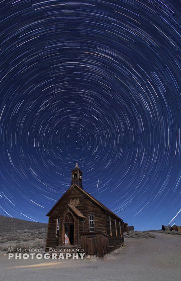 Bodie Church Startrails