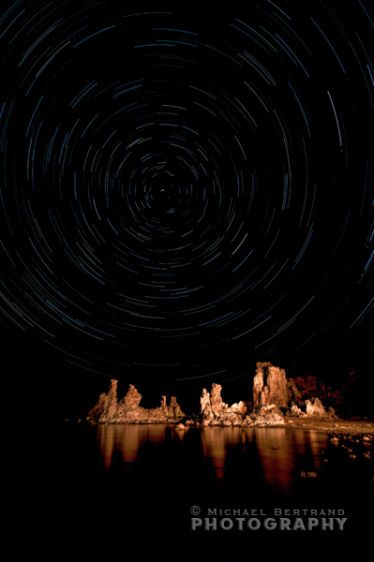 Mono Lake Star Trails 1