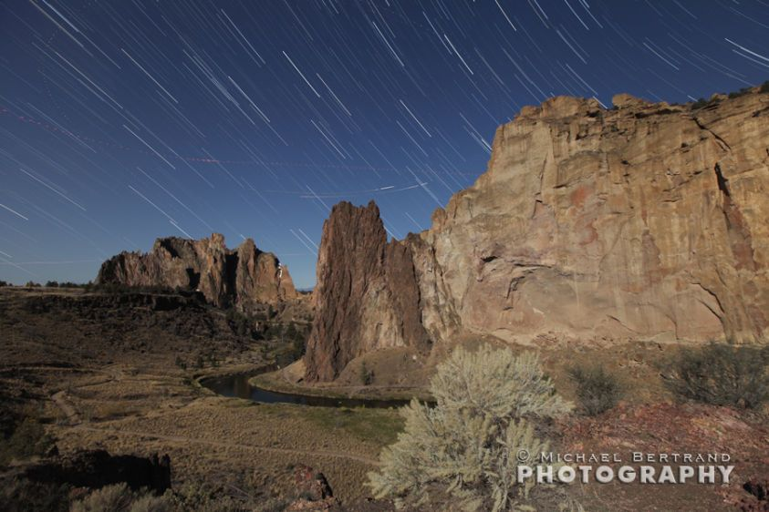 Smith Rock Startrails
