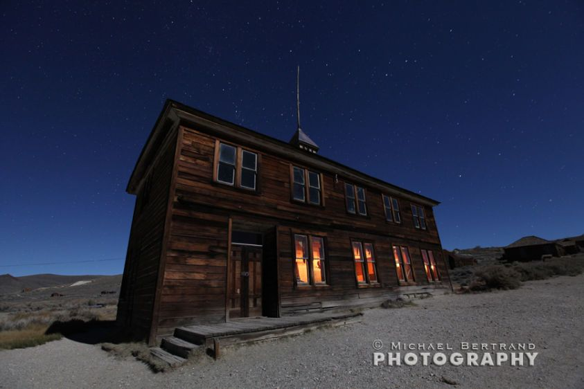 Schoolhouse at Bodie