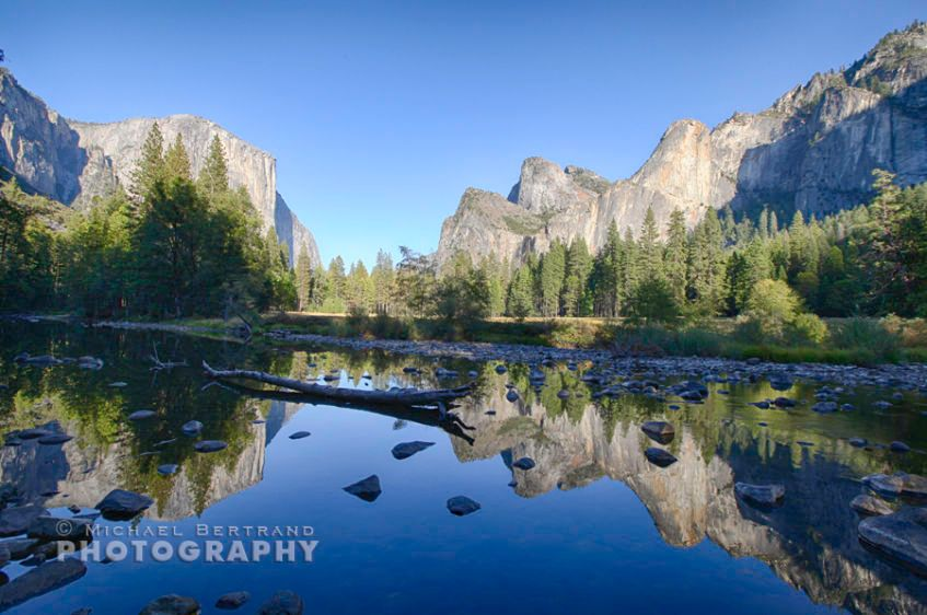 Valley View Reflection Yosemite
