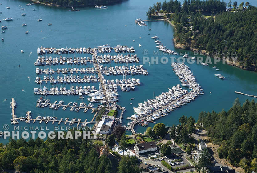 Over Roche Harbor 2479
