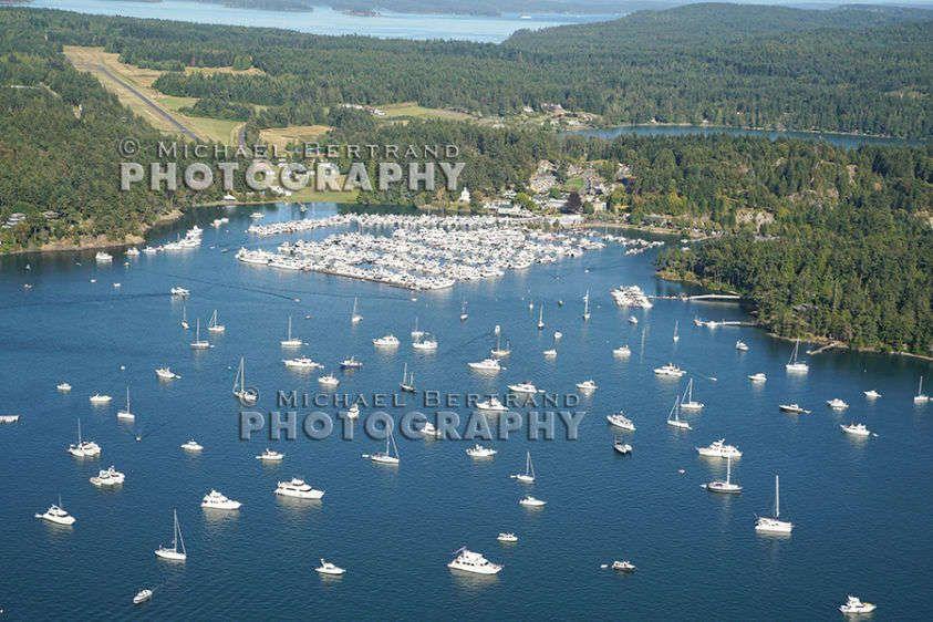 Over Roche Harbor 2508