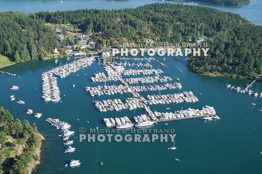 Over Roche Harbor 2518