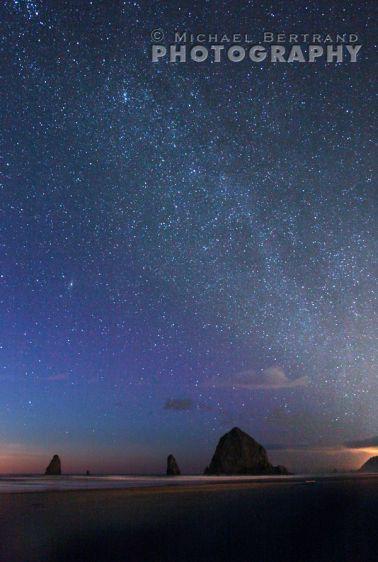 Cannon Beach Milky Way