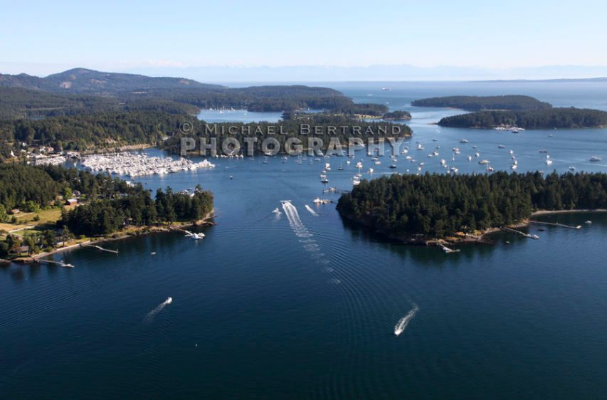 Over Roche Harbor & Pearl IslandJuly3, 2013