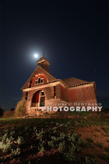 Govan School House Moon