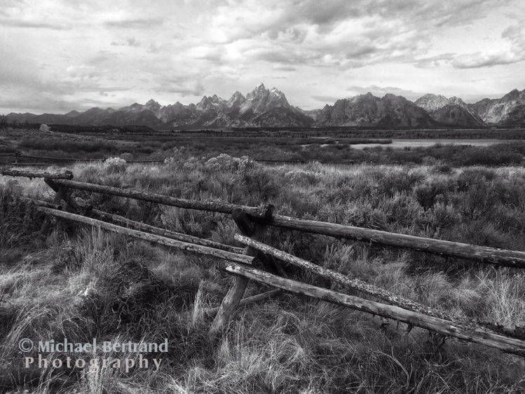 Fence in Grand Tetons