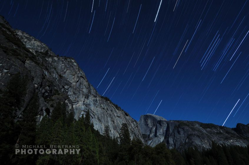 Yosemite Valley Star Trails