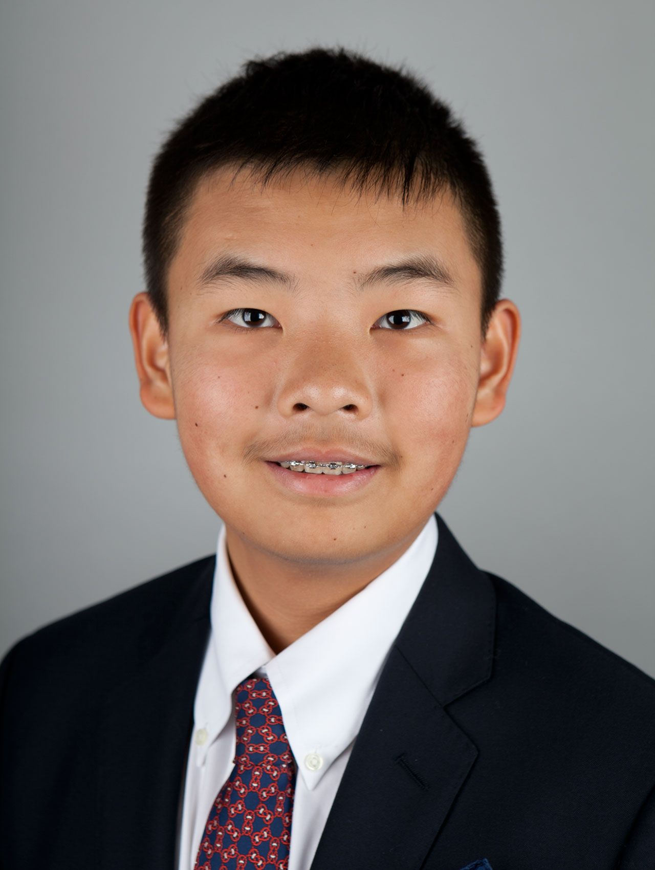 Professional Portrait of Young Asian Boy