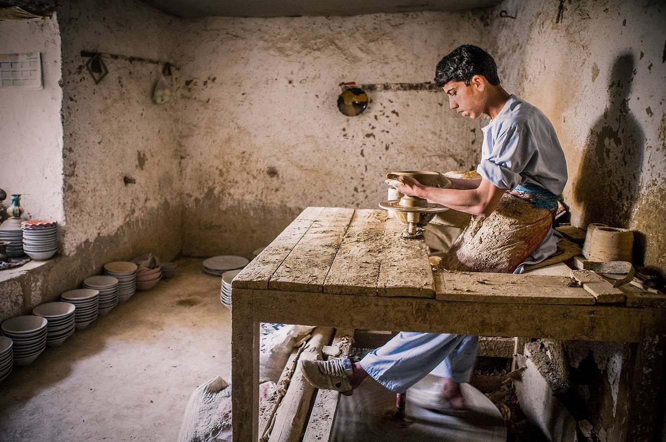 Pottery Studio in Istalif, Afghanistan