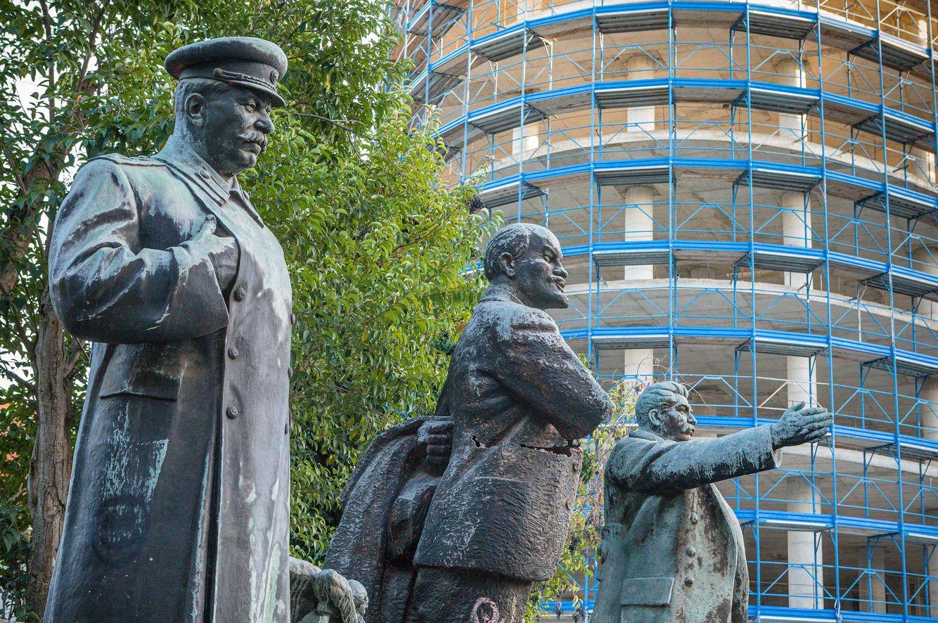 Communist Statutes inTirana