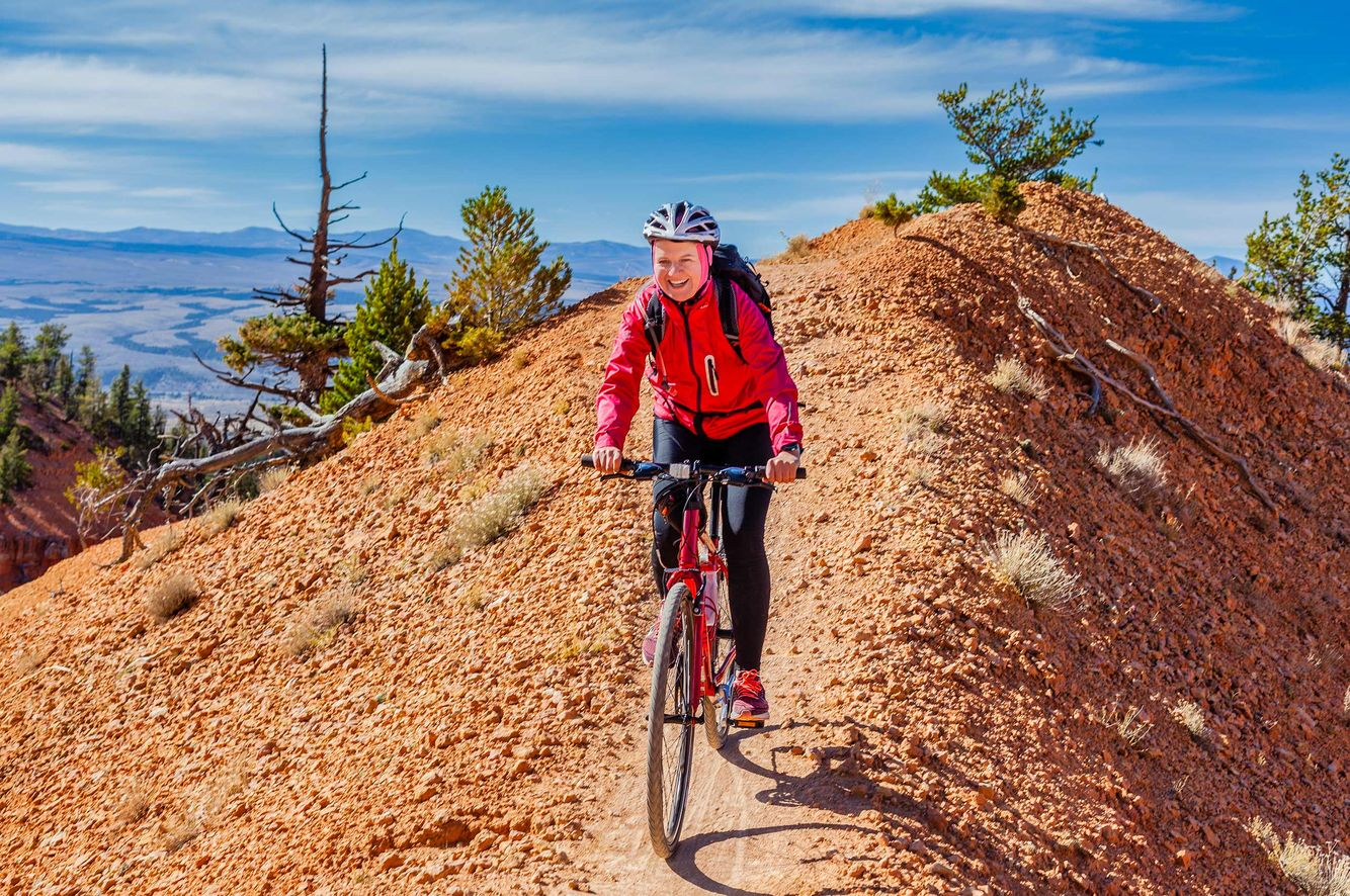 Bicycling in Red Rock Canyon