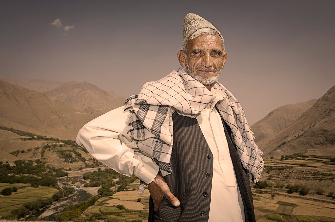 Portrait of an Afghan Man