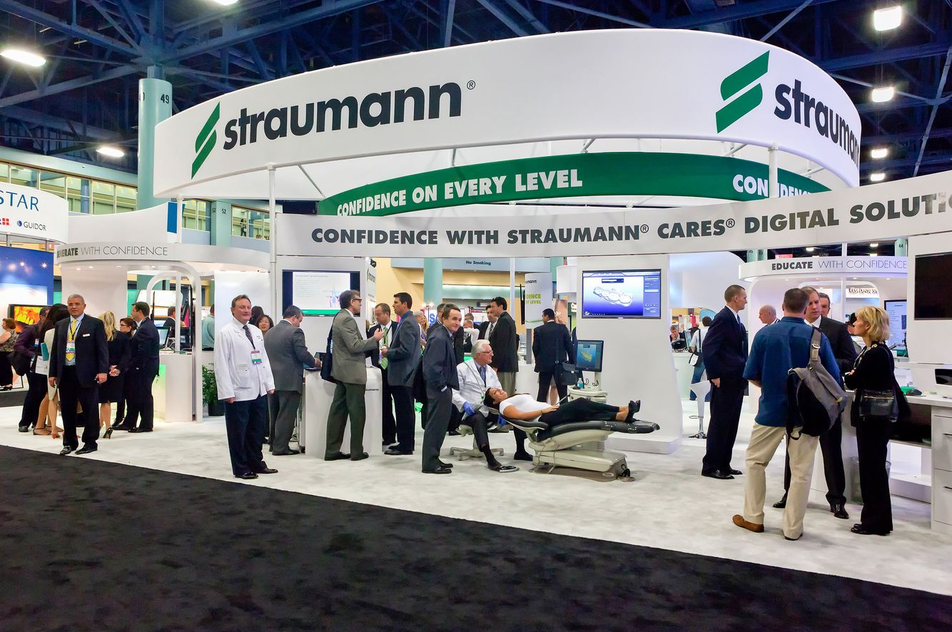 Straumann Booth at the Trade Show