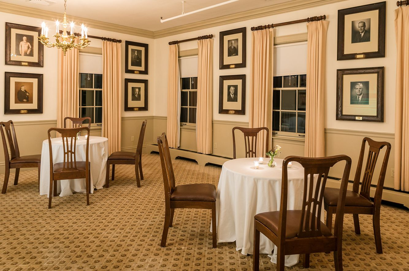 Dining room of The Country Club