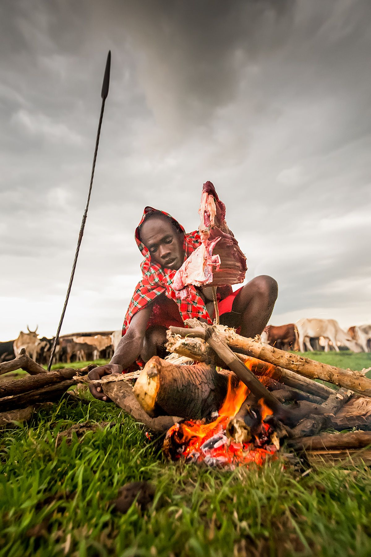 Traditional Massai BBQ