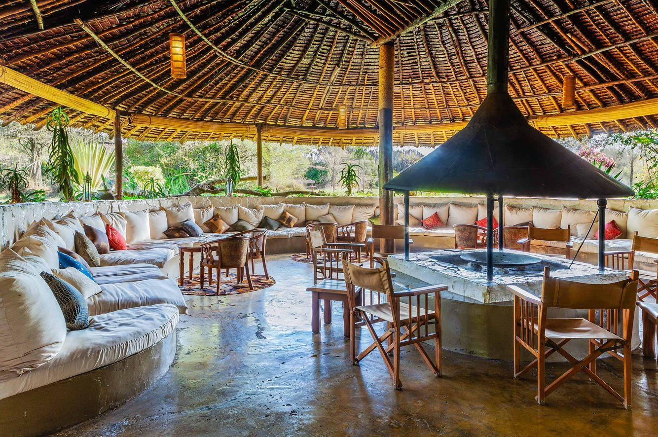 A Luxury Lodge and Camp in the Masai Mara of Kenya