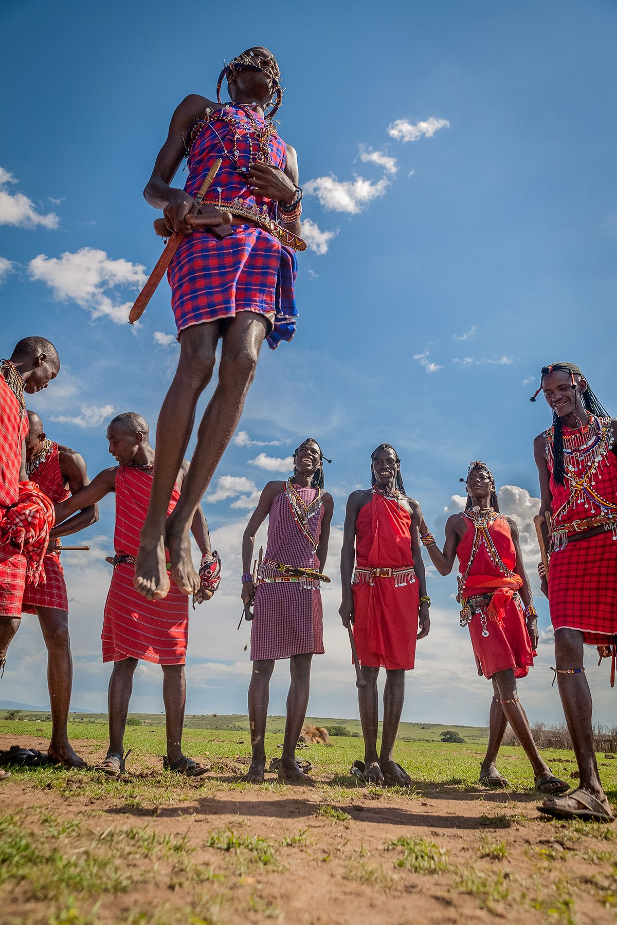 "The Maasai Warrior : ""Jumping Dance"""
