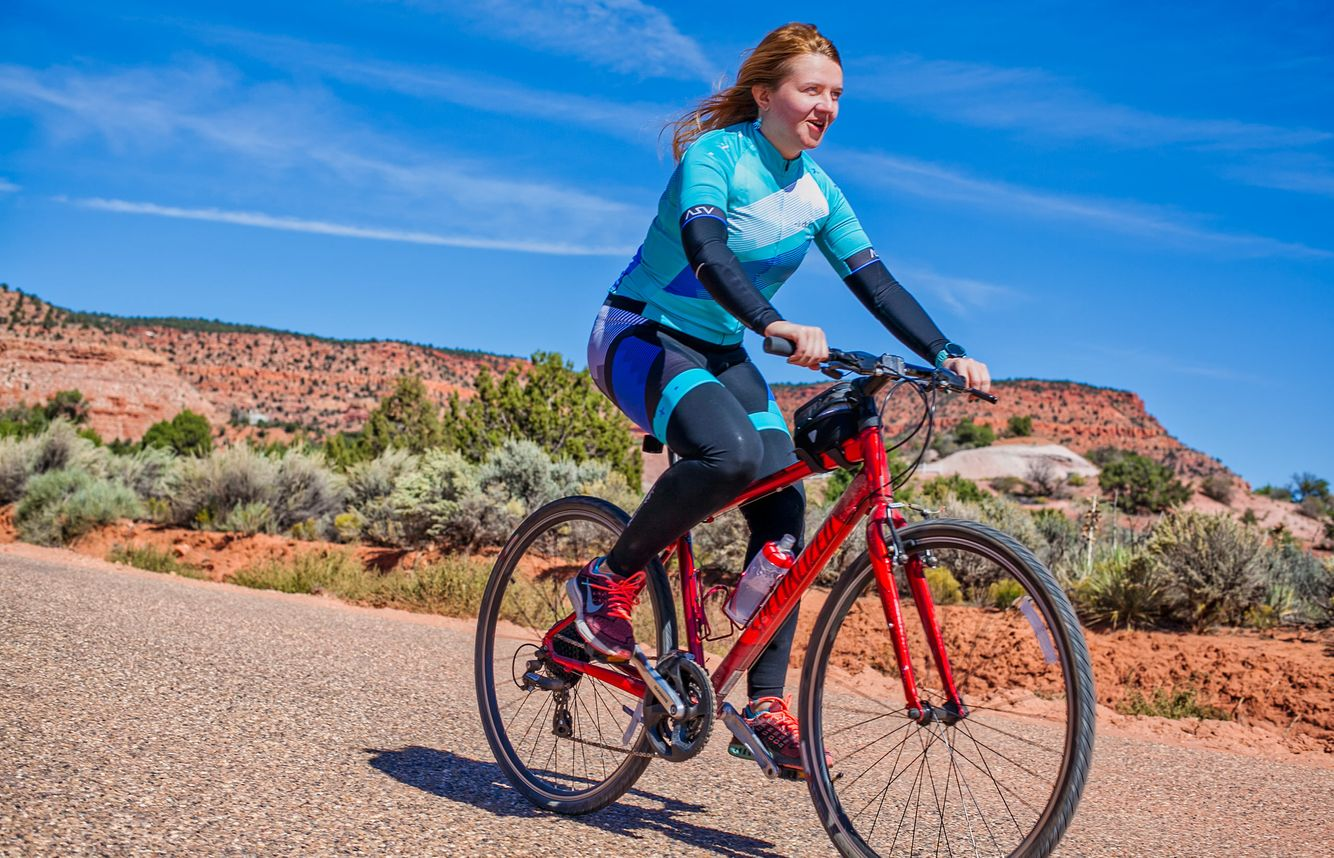 Bicycling on the Zion Canyon Scenic Drive
