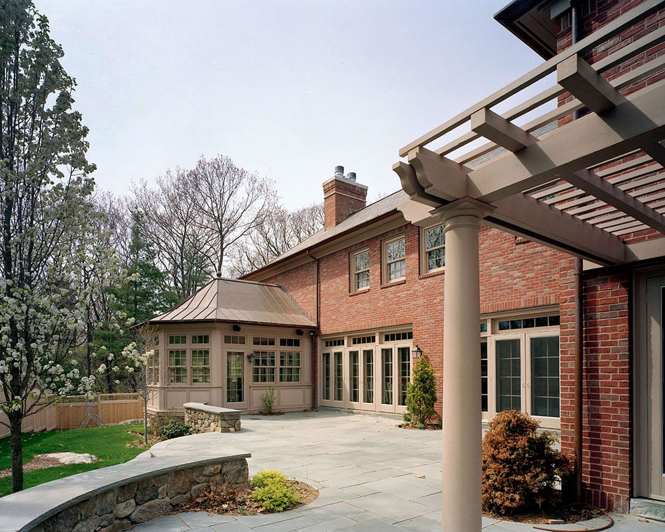 Residential House in Wellesley, MA.