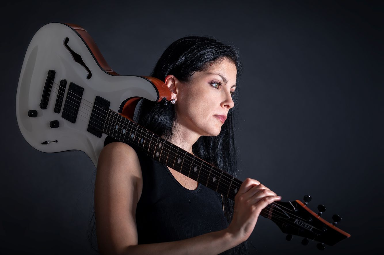 Guitar Player Portrait
