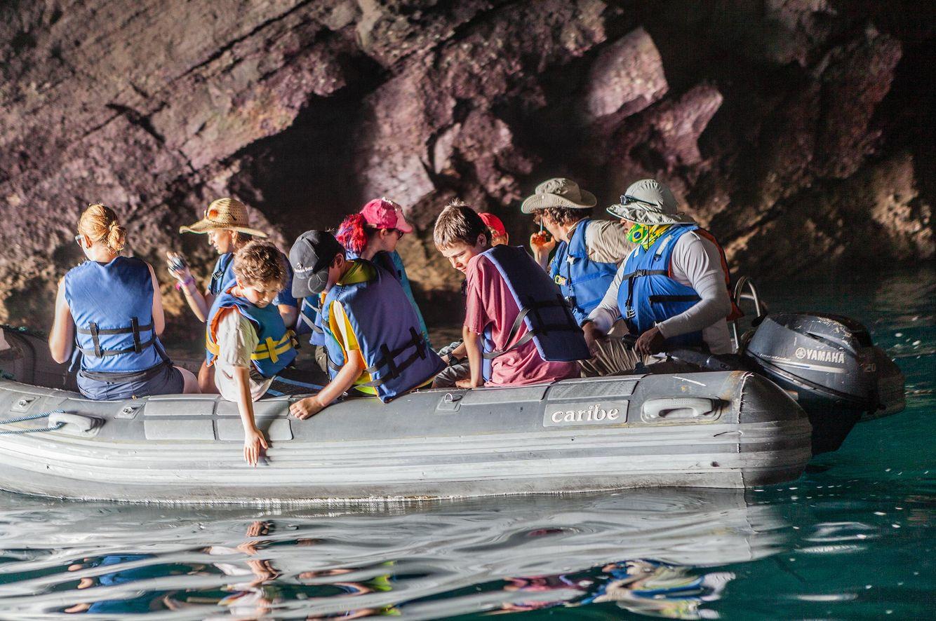 Tourists Boat