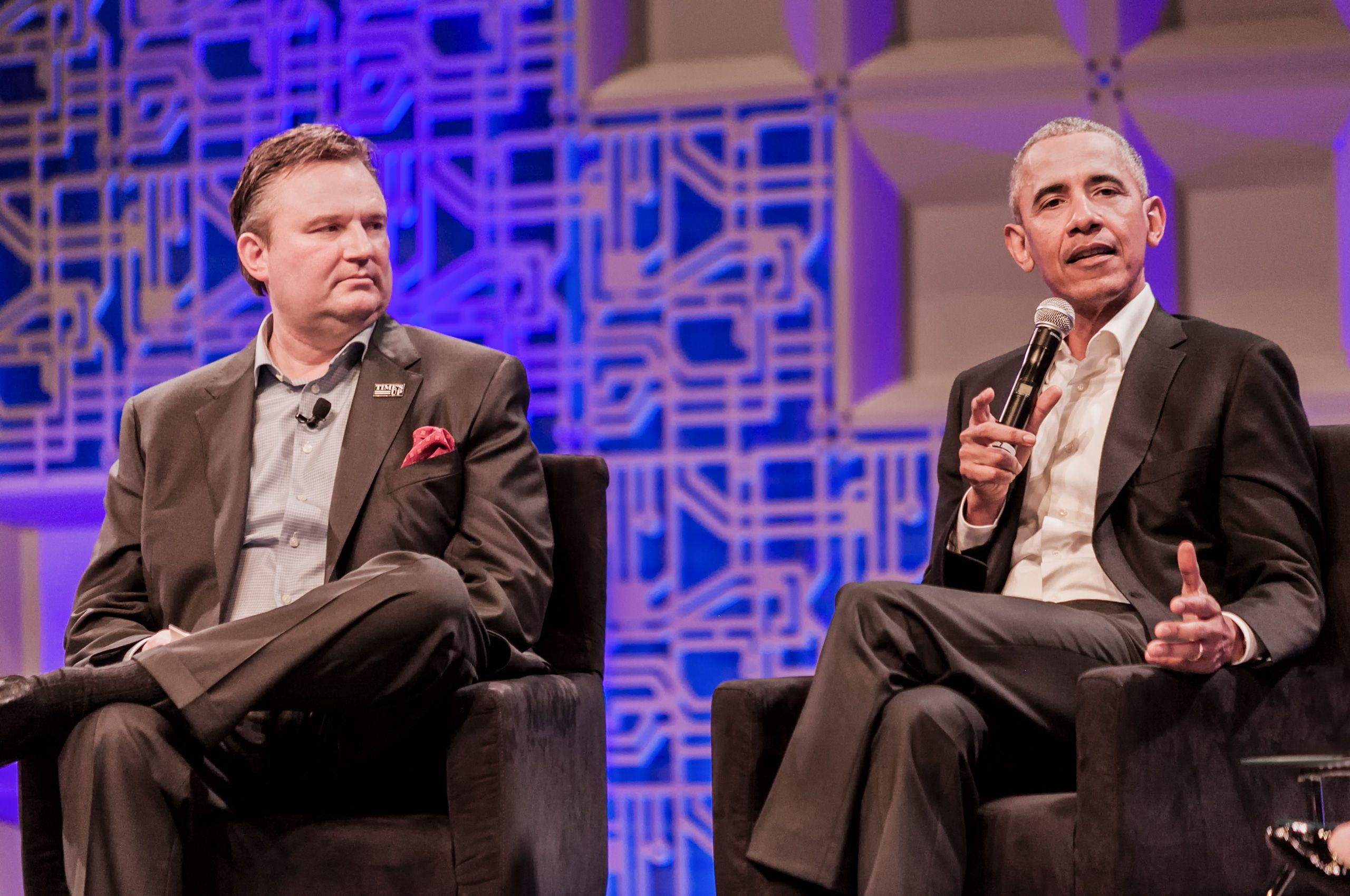 Obama's session at MIT's Sloan Sports Analytics Conference