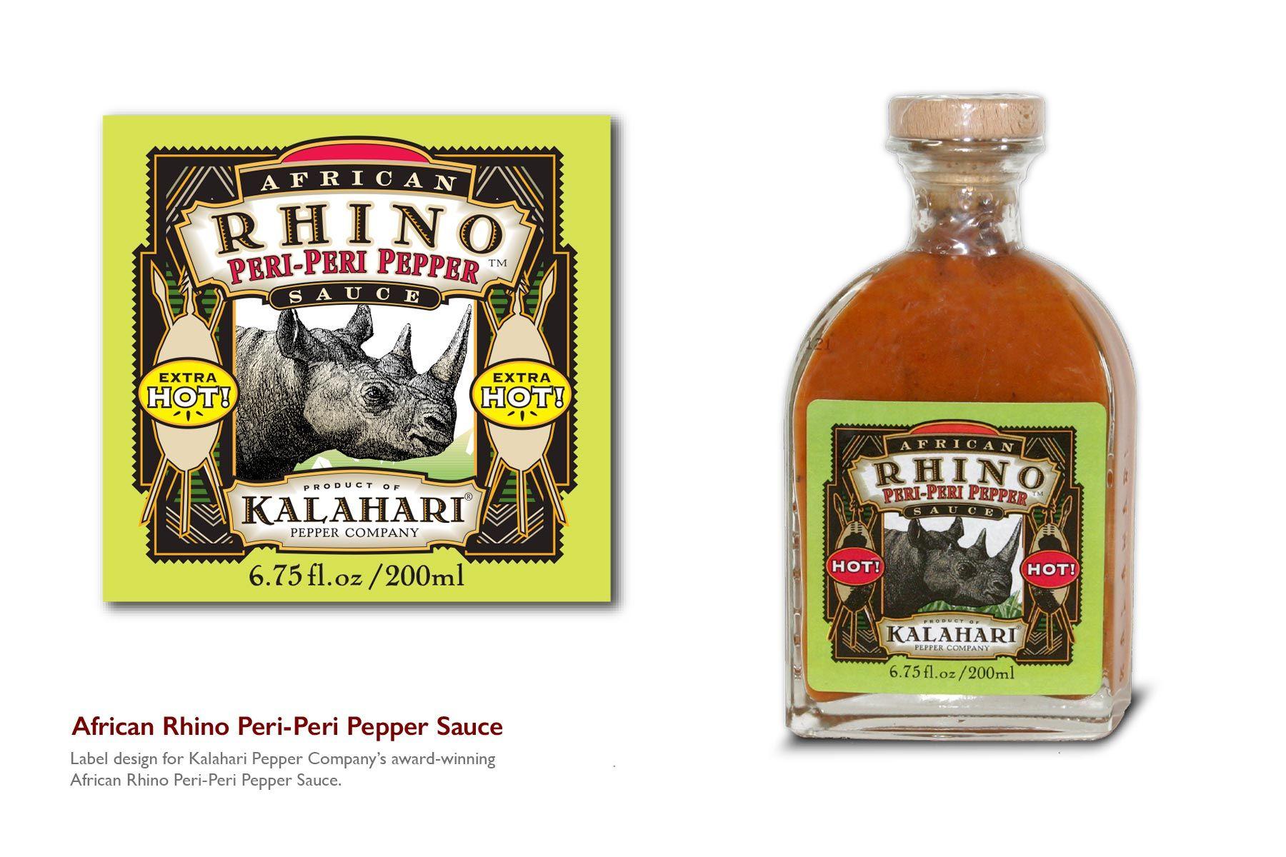 African Rhino Peri-Peri Pepper Sauce