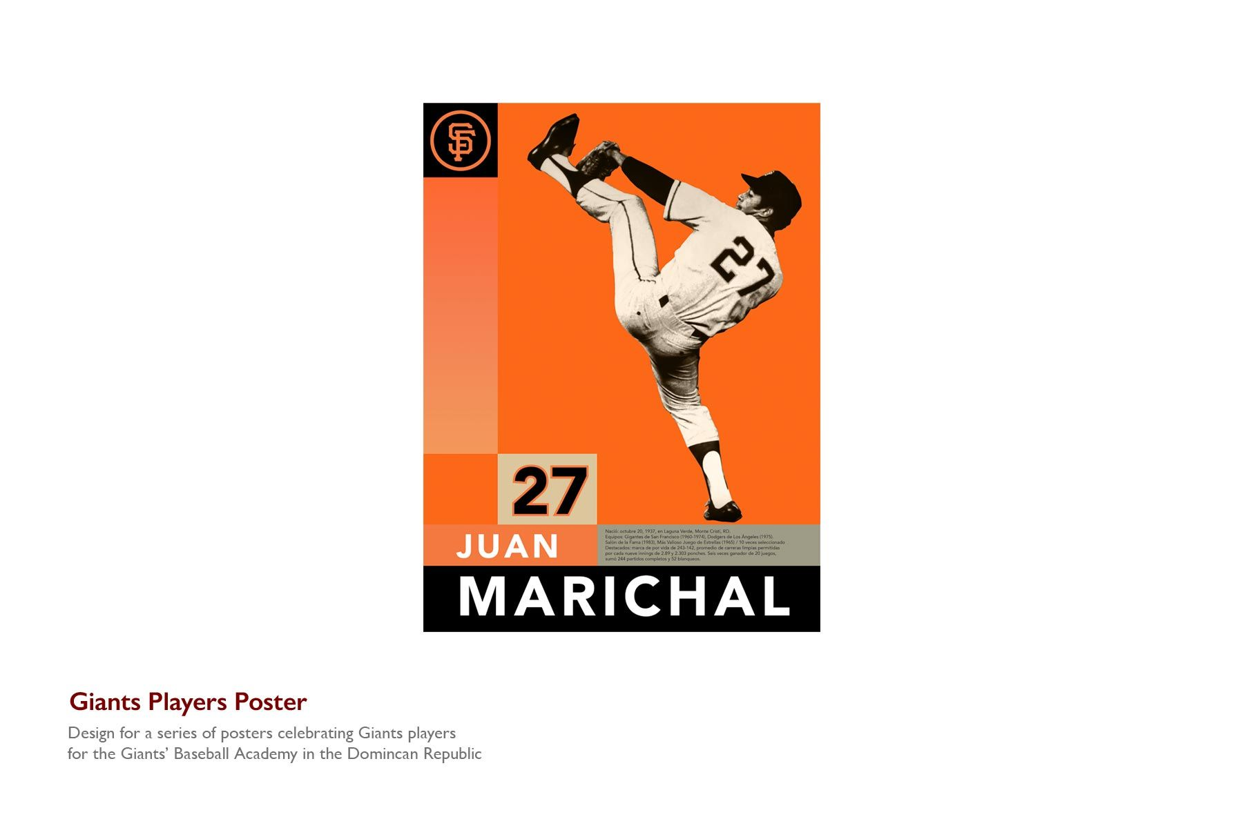 Giants Player Poster